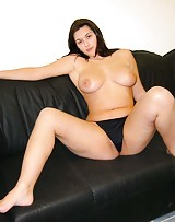 Big boob slut has no shame showing her tits and she wants to get bent over.