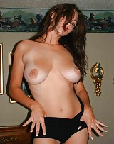Hot slut plays with her big boobs cause they love the dick.