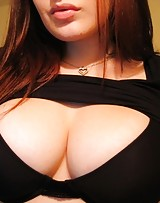 Big chested amateur shows her busty juggs cause they love the dick.