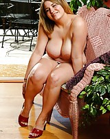 Big chested girl reveals her huge boobs and shes ready to get fucked.