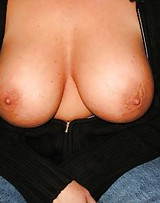 Amateur with huge tits pops her big tits out cause they love the dick.
