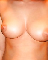 Hot girl calmly flashes her big tits and she has the nicest nipples.